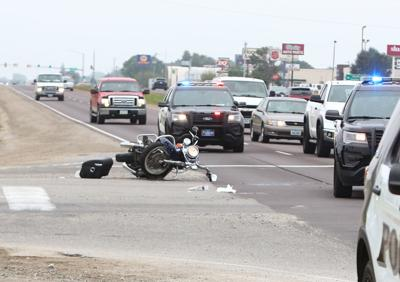Motorcycle crash 1