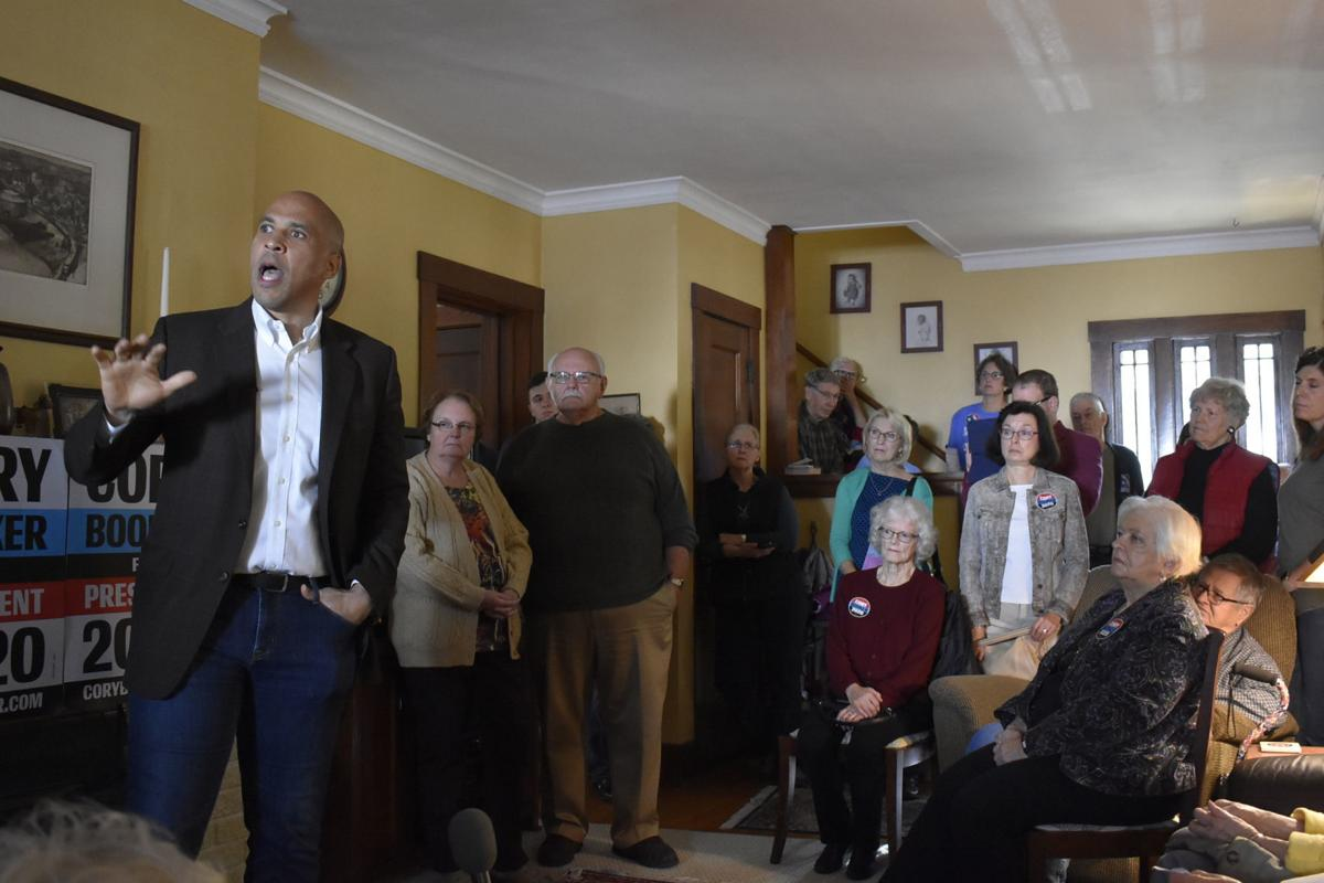 Corey Booker in Charles City