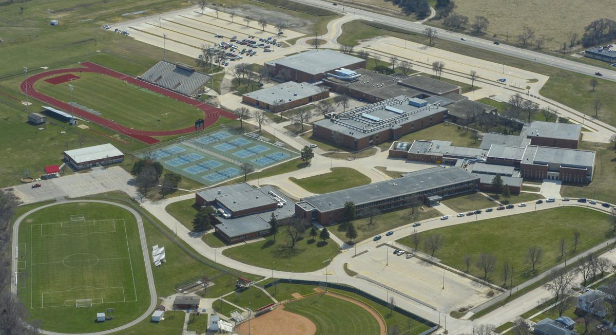Aerials Mason City High School