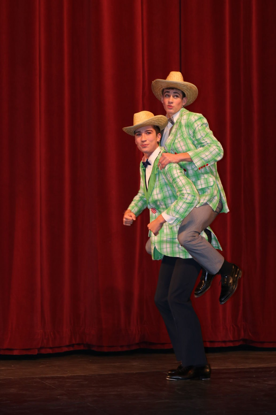 """Singing In The Rain"" musical performed at Boman Fine Arts Center-1"