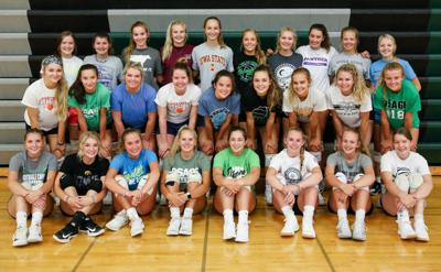 The 2019 Osage High School Volleyball team