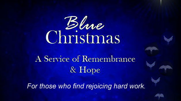 blue christmas logo - Blue Christmas Service