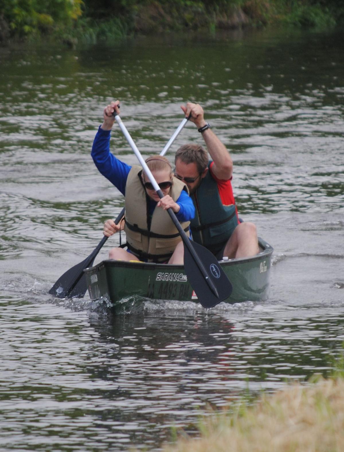 Adventure Race canoe