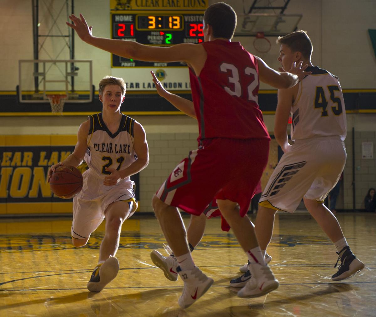 G-B-Bball Clear Lake vs. Forest City 3