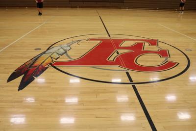 Forest City high school gym