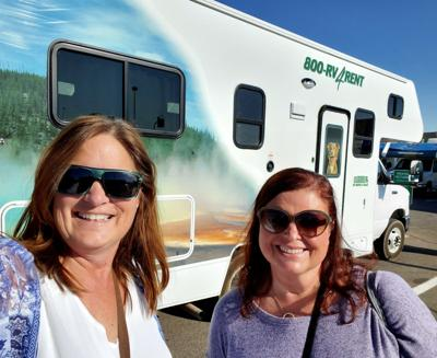 Two women, a 27-foot rental RV and the Grand Canyon