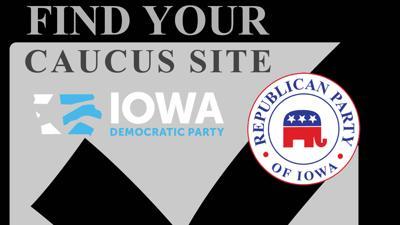 Caucus locator weblogo