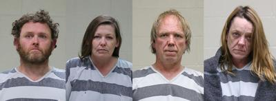 Four arrested in connection to meth lab