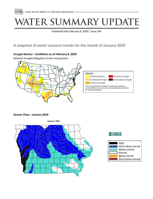 Feb Water Summary Update