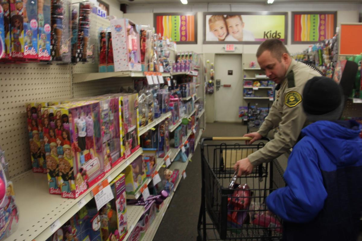 Shop with a Cop on Dec. 10