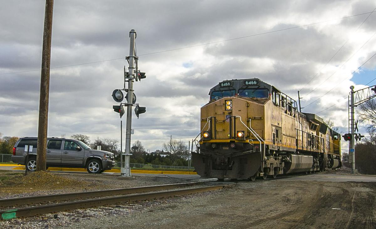 Railroad ride-along sends the message: Obey rail crossing