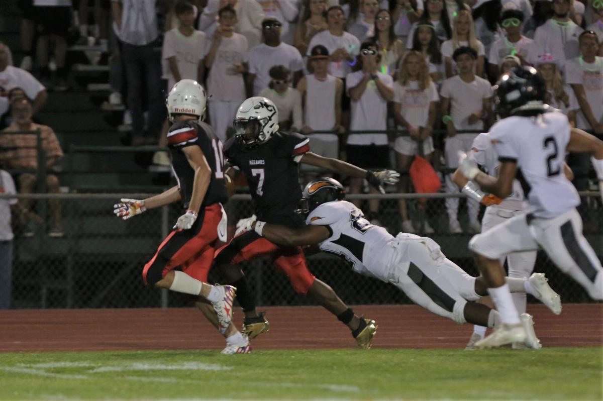 Mason City High School vs Charles City football - Christian, Walker