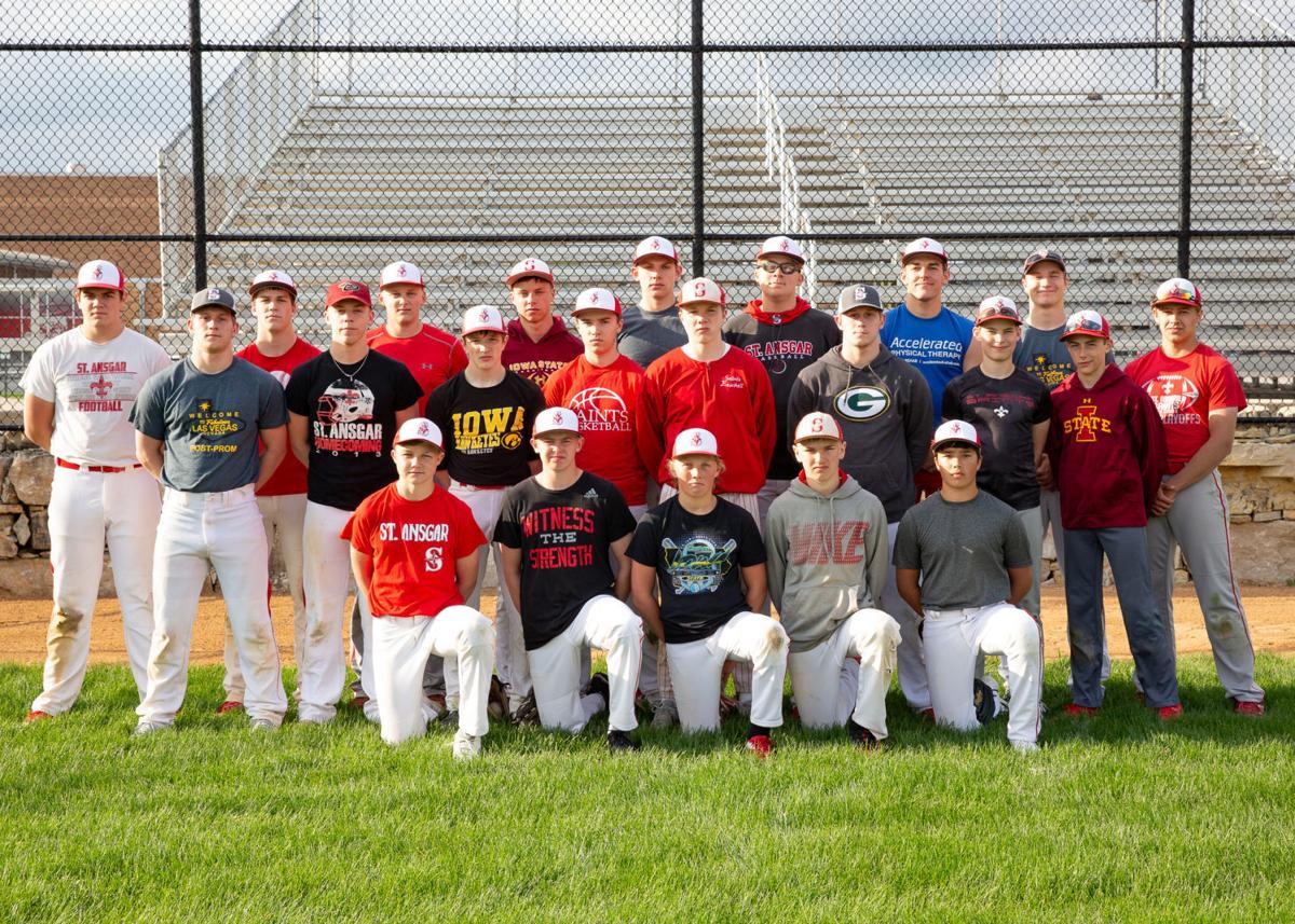 2019 St. Ansgar High School Baseball team