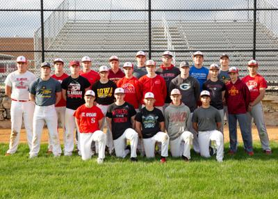 2019 St. Ansgar High School Baseball team
