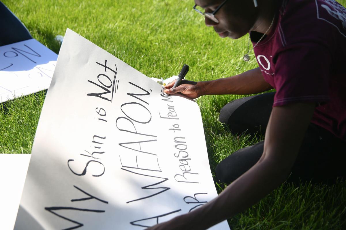 #BlackLivesMatter protest MAIN PHOTO