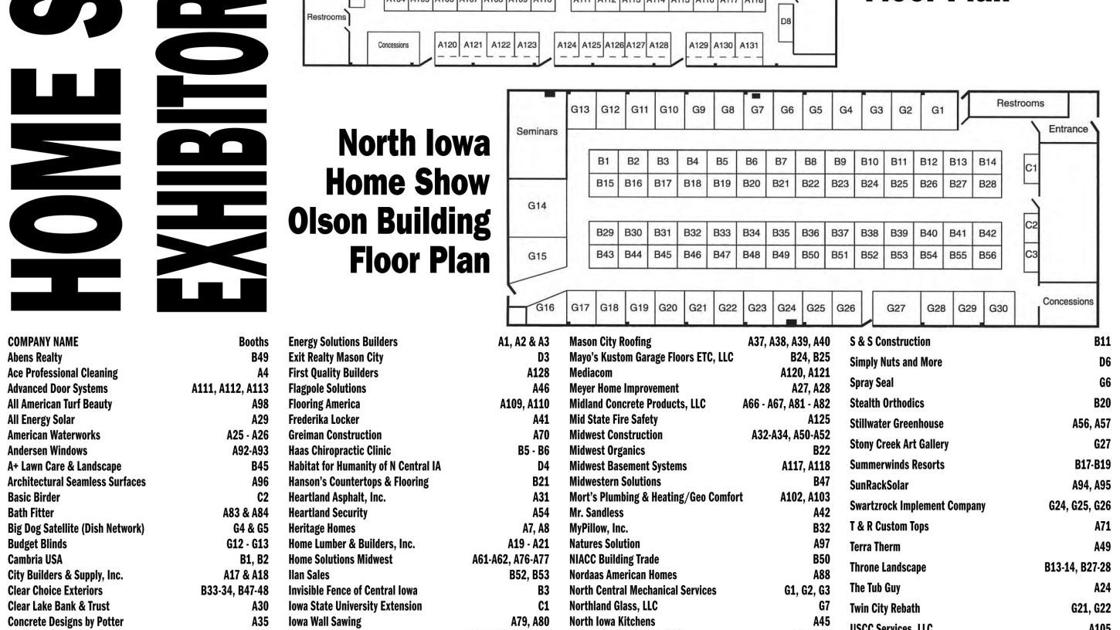 North Iowa Home & Landscaping Show: Exhibitors are eager to share ...