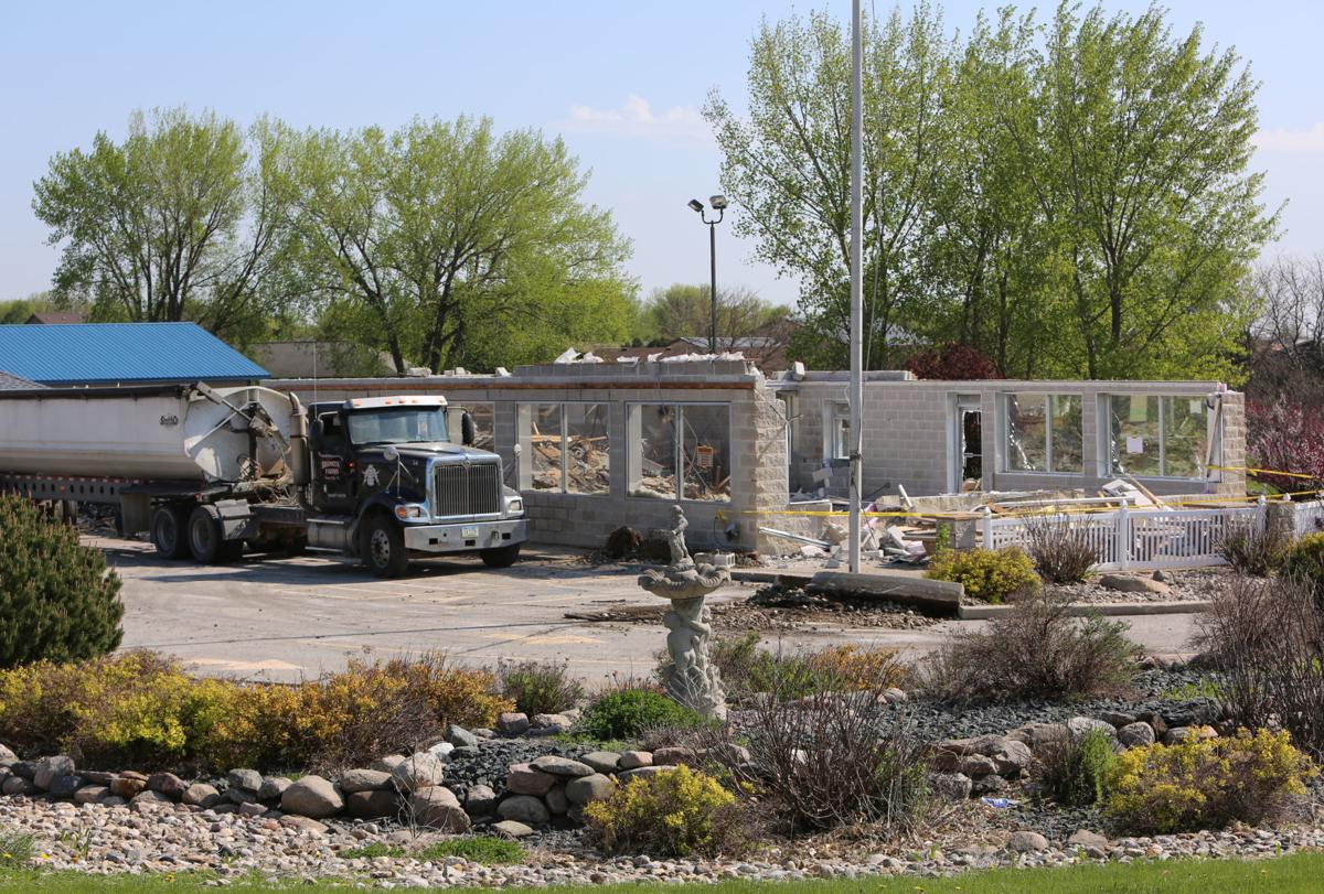 Dairy Queen demolition in Clear Lake