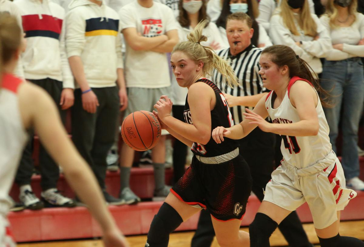 Mason City girls basketball vs Charles City - McDonough/Hoeft