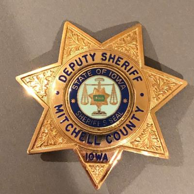 Mitchell County Sheriff badge