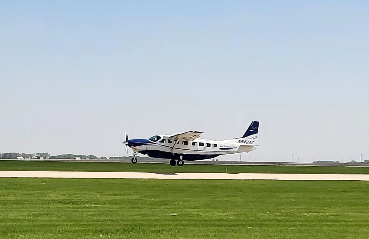 Air Choice One landing