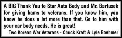 Thank You Star Auto Body