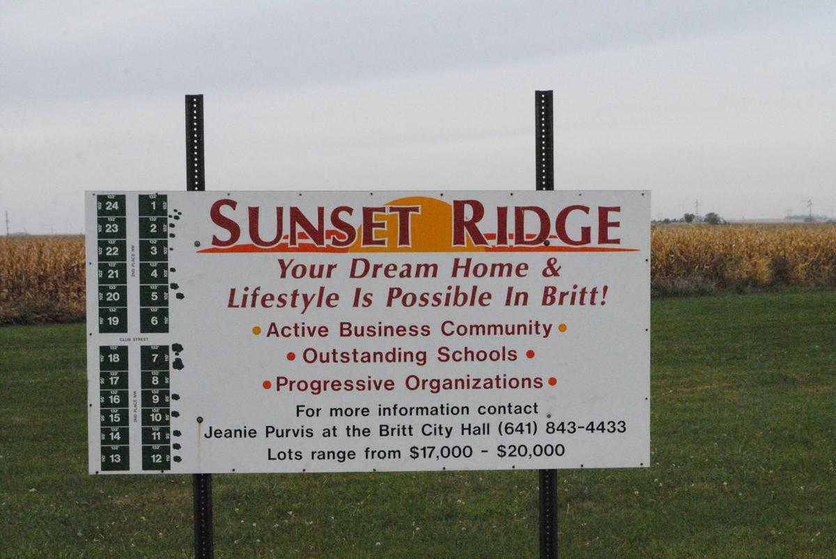 Sunset Ridge sign