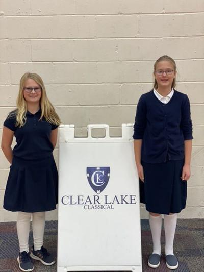 Clear Lake Classical students selected to honor choir
