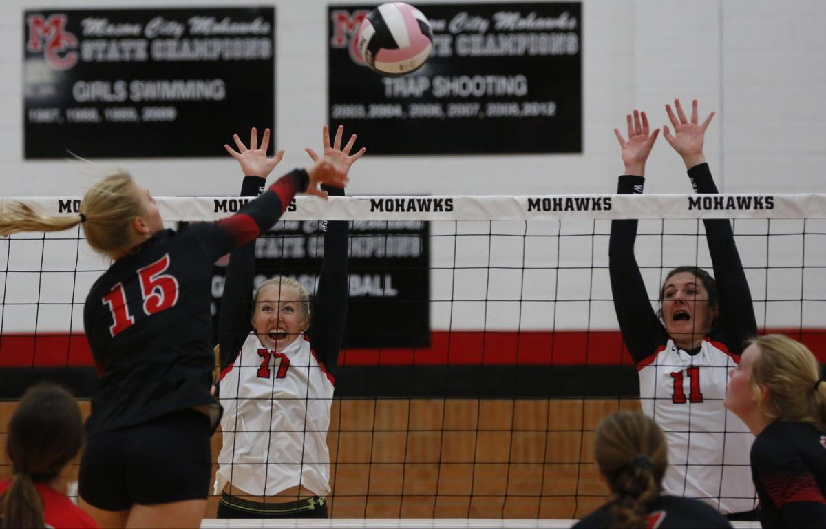 Vball Mason City vs. Fort Dodge 1