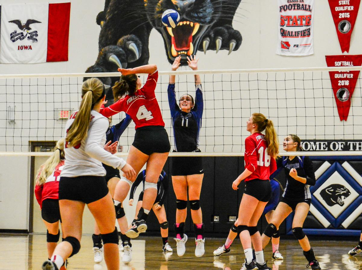 FC volleyball vs. Central Springs 2