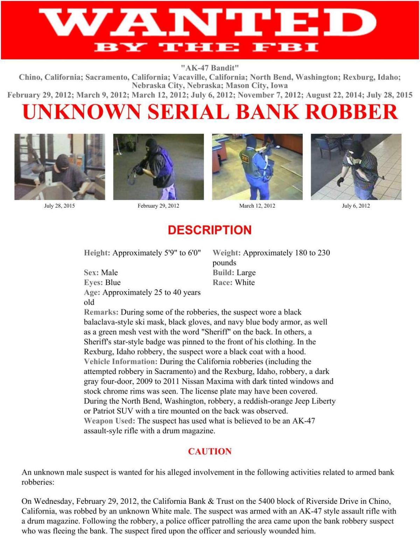 Wanted: AK-47 Bandit