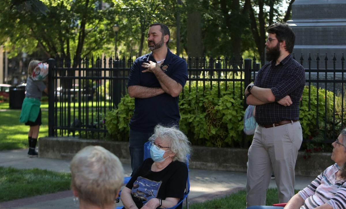 Rob Sand visit to Mason City - question