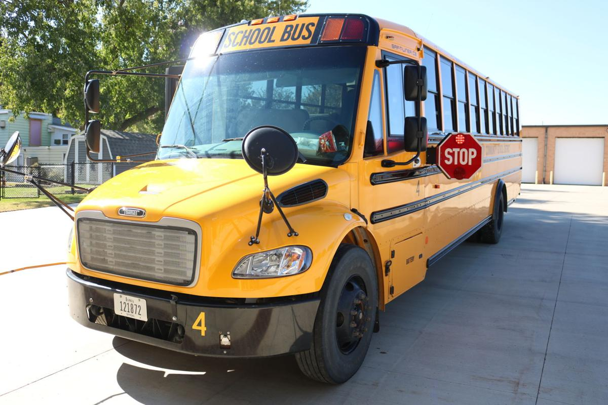 G-H-V school bus replacement award