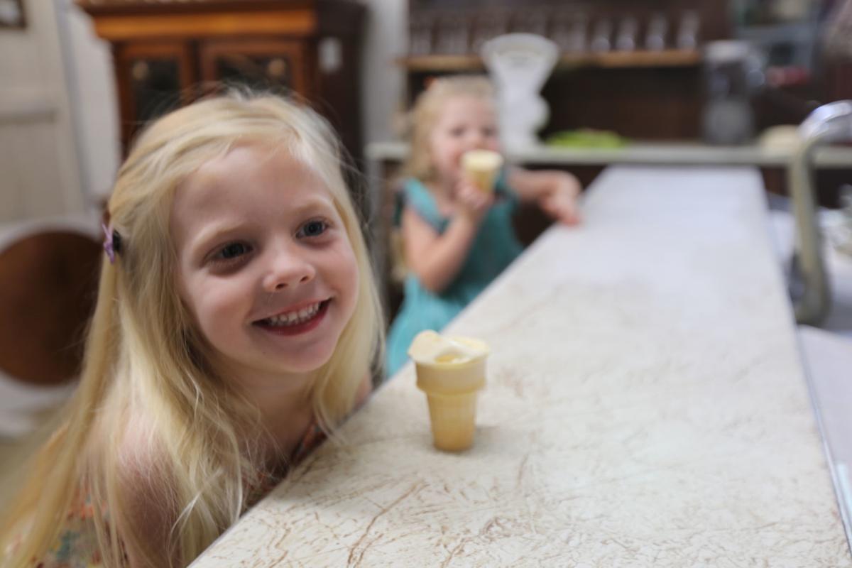 Kinney Pioneer Ice Cream Day