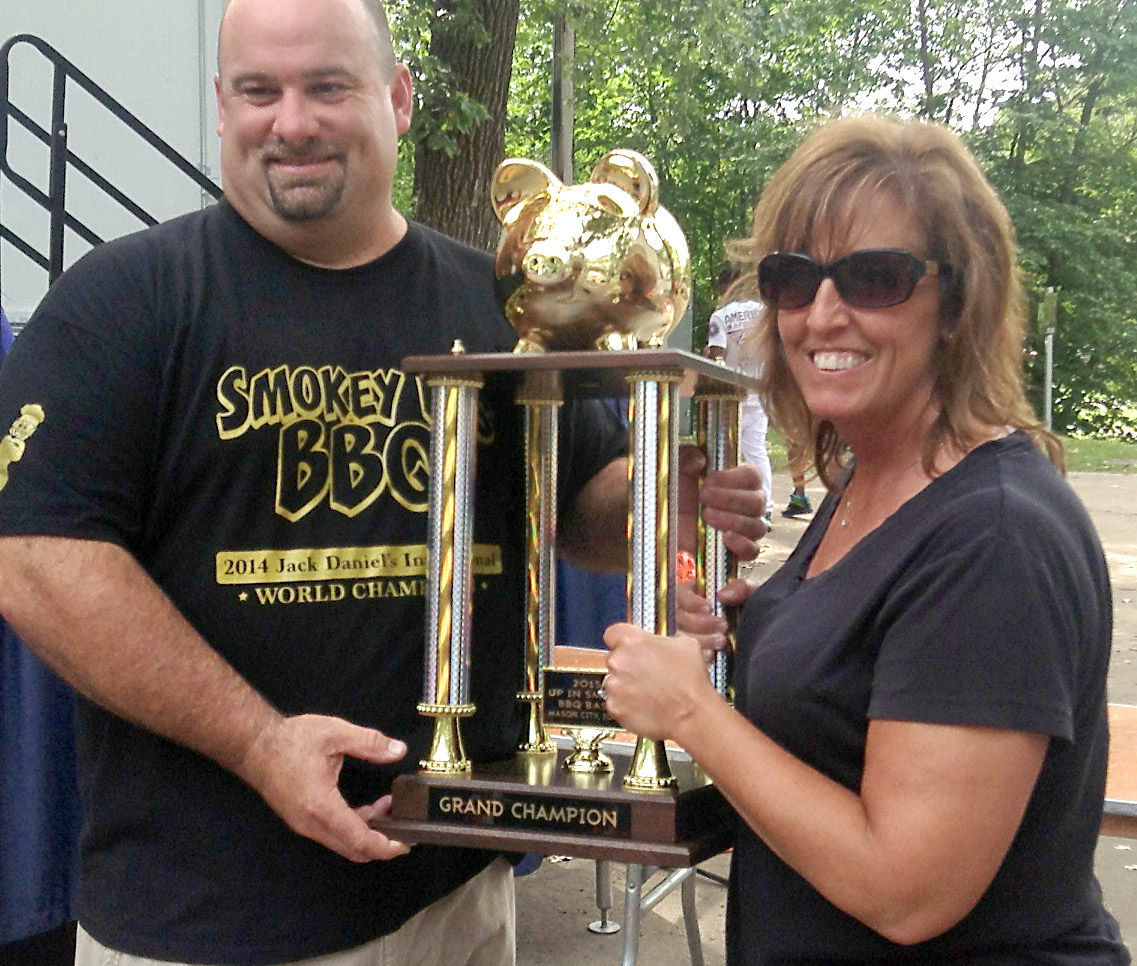 2015 Up in Smoke BBQ Bash overall grand champions