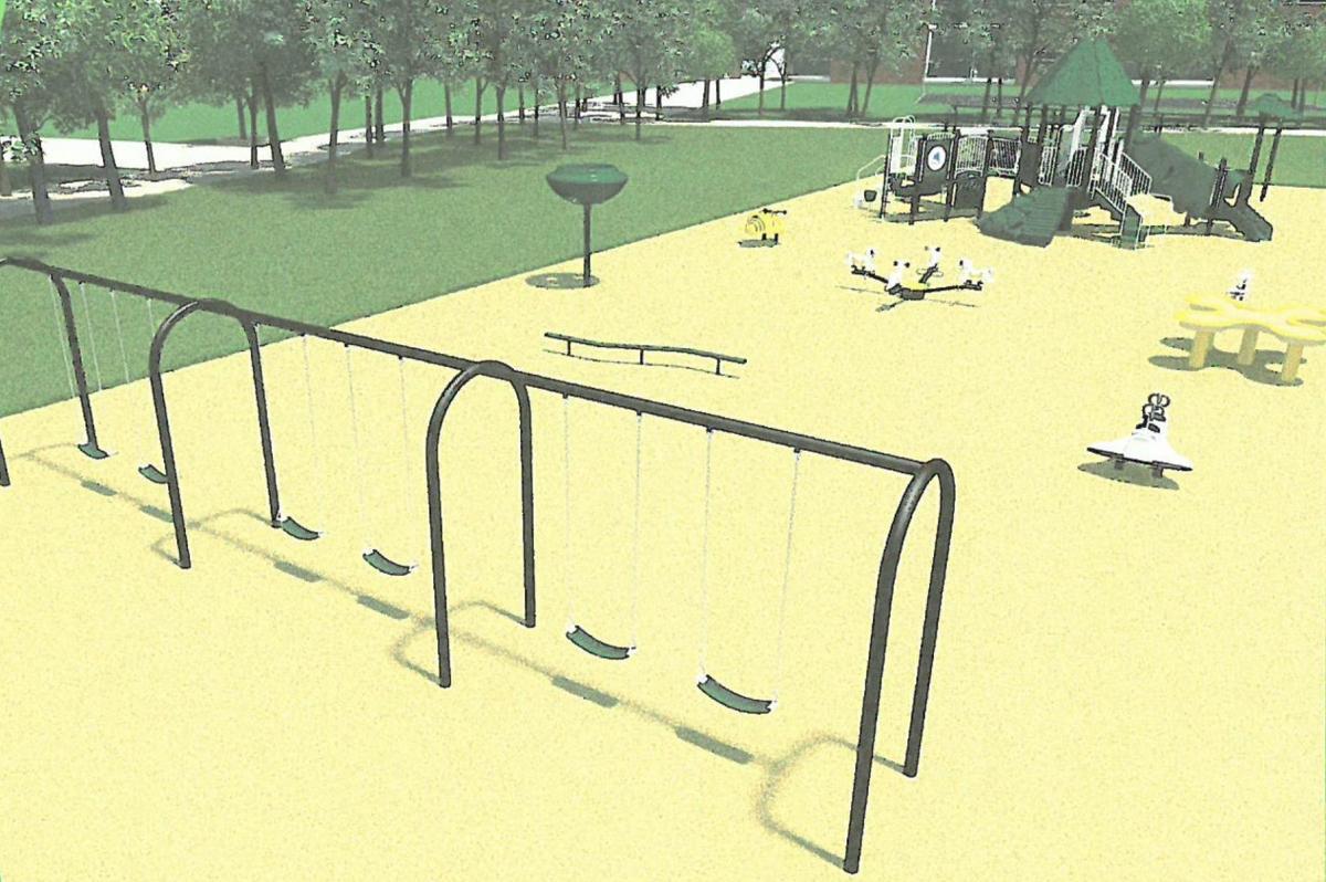 New playground example