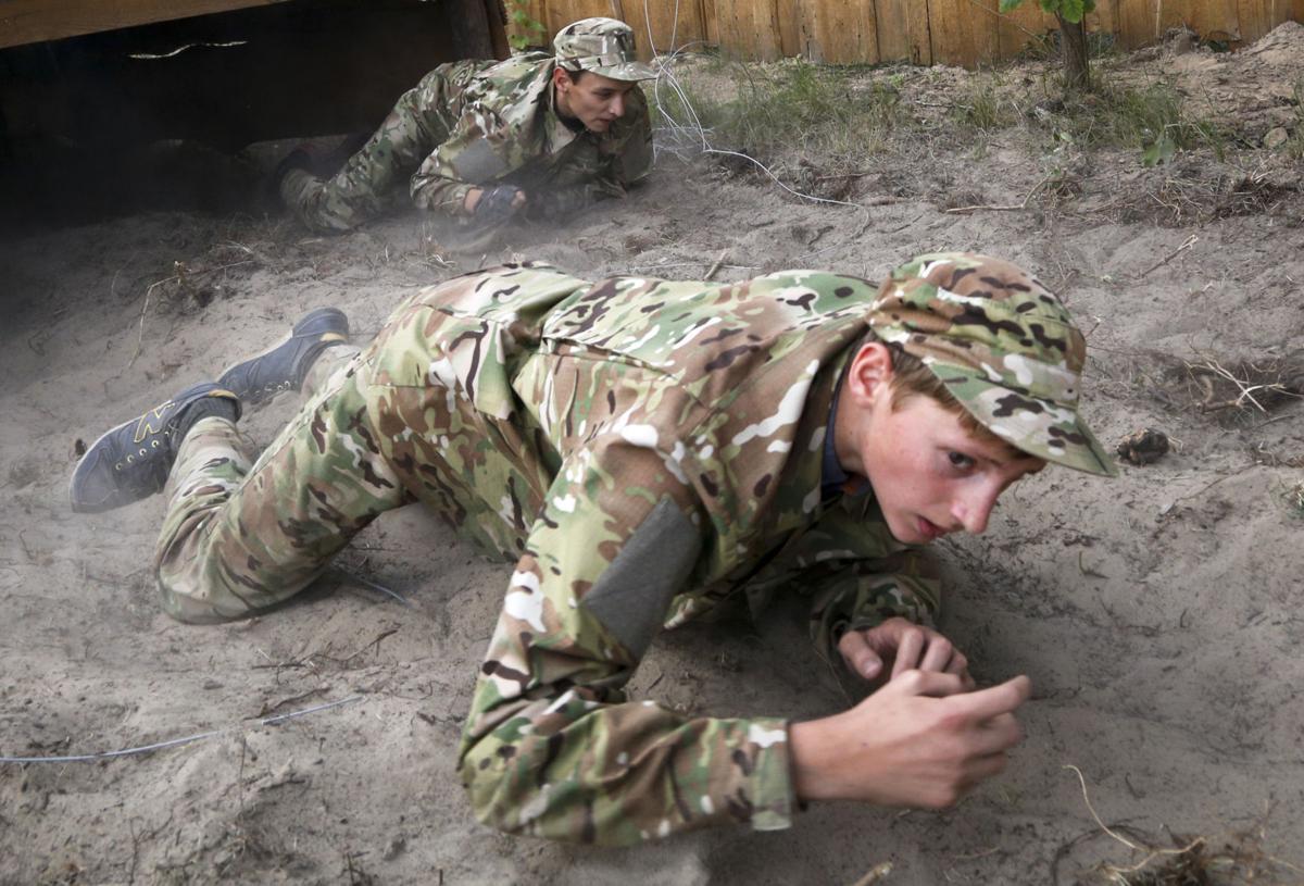 Ukraine Groomed To Fight Photo Essay