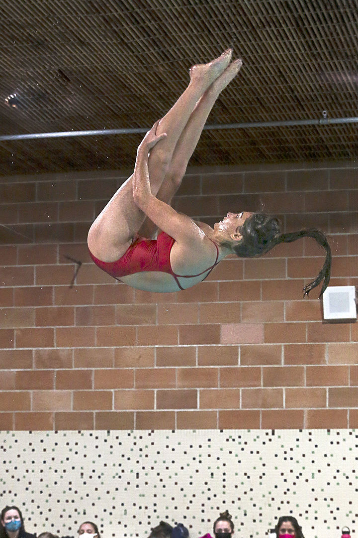 Mohwks swim - Rosa Monarch - vs. Dowling - 2020