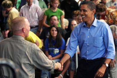 Obama in Mason City