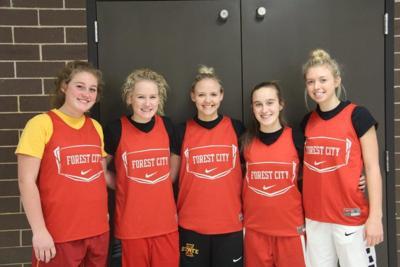 FCHS girls basketball seniors