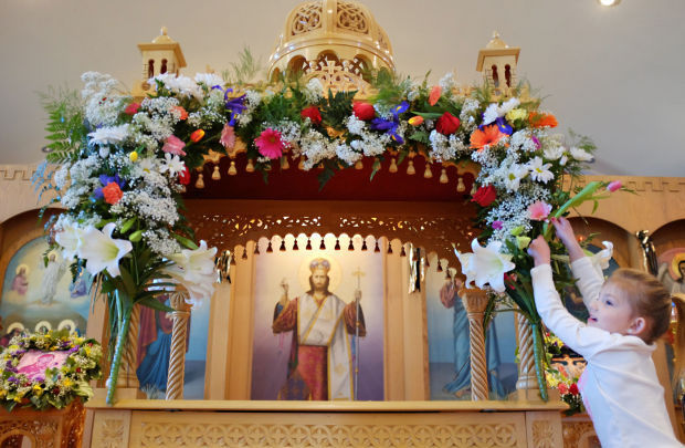 Greek Orthodox Christians observe Holy Pascha   Mason City