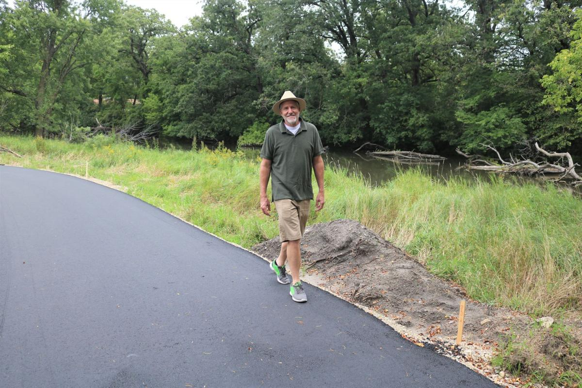 Korth Nature Trail with Lonny Vlieger walking on Sept. 2