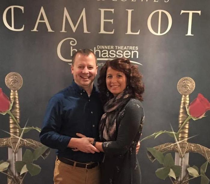 Jon West and wife Tammy