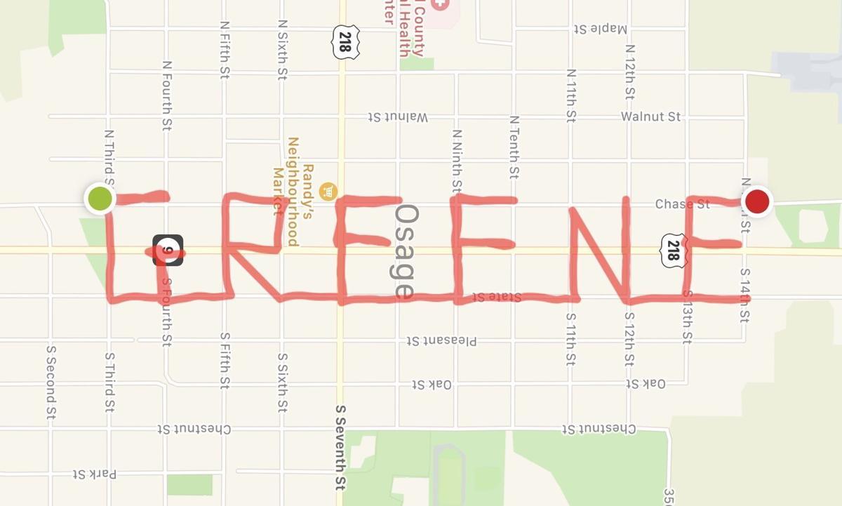 Greene - Map