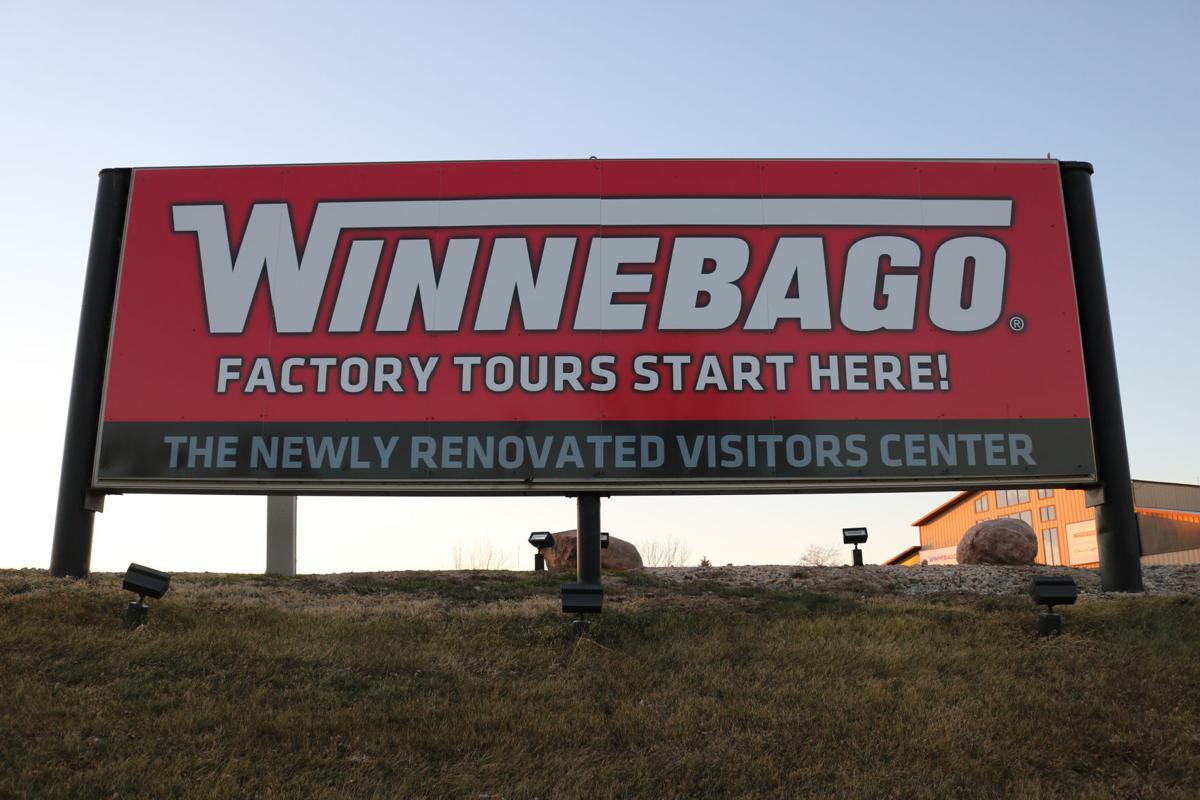 Winnebago Visitor's Center New Sign