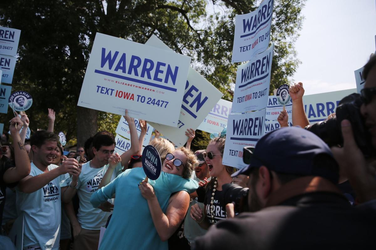 Warren supporters