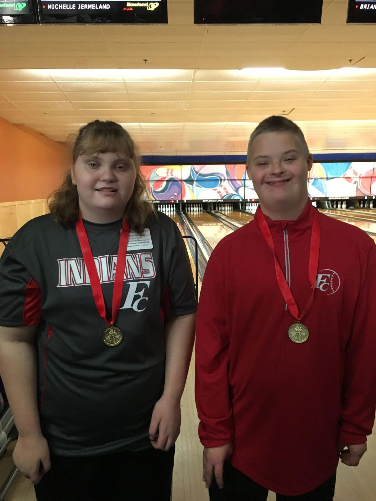 Special Olympics gold medalists