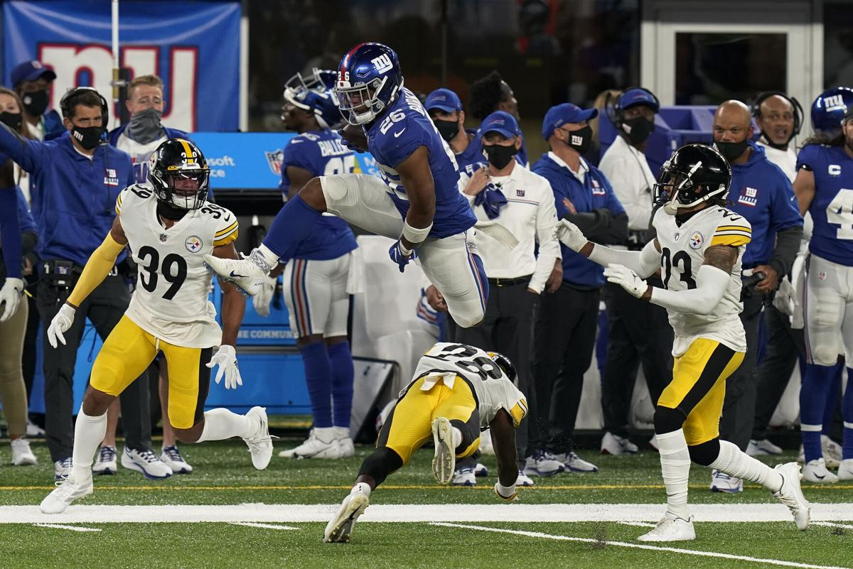 APTOPIX Steelers Giants Football