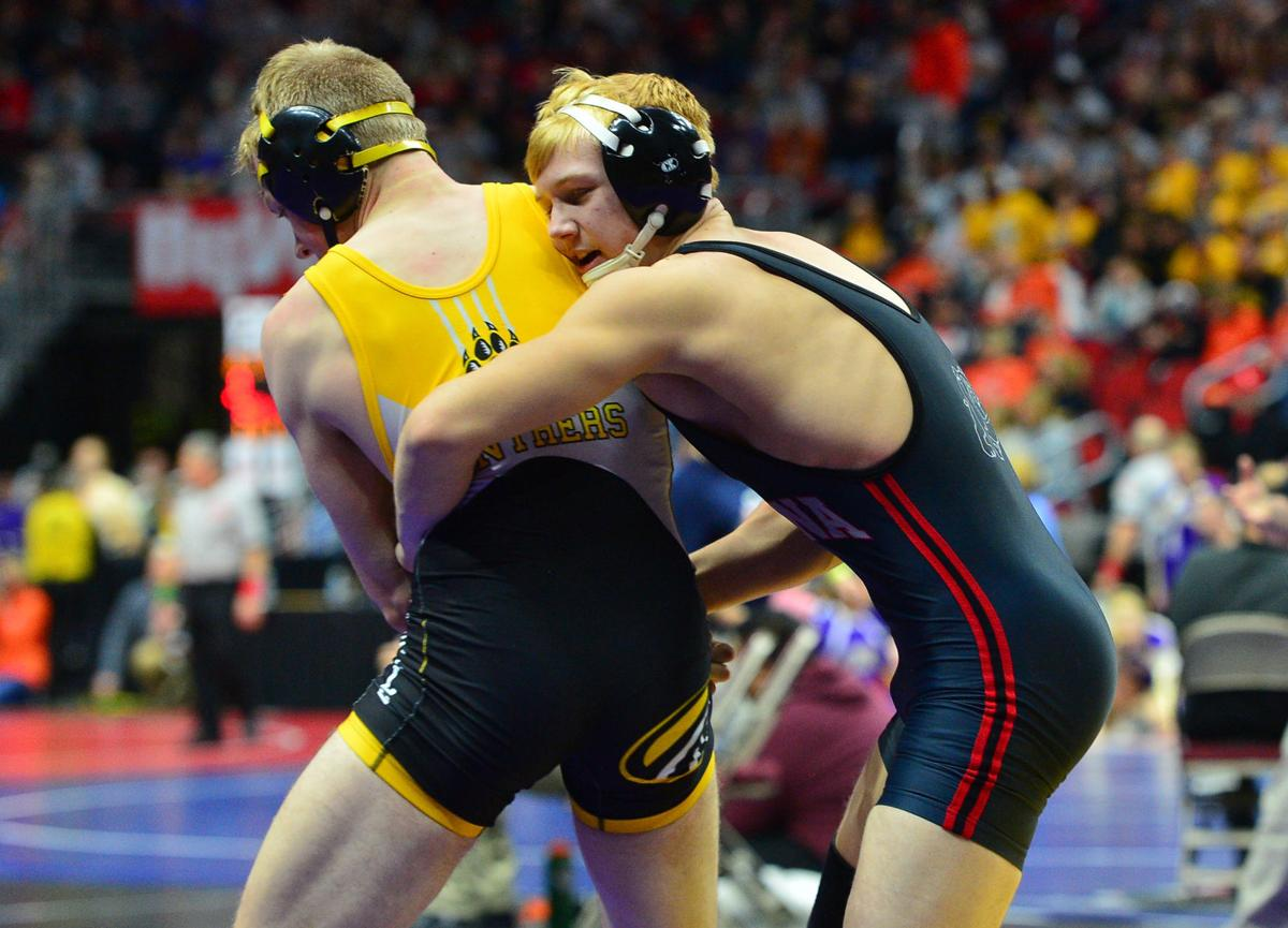 State Wrestling Thurs 2A 22