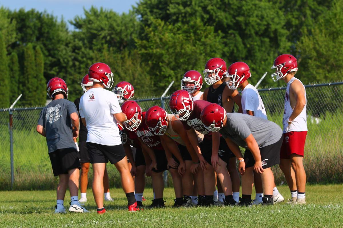 NC football practice 2