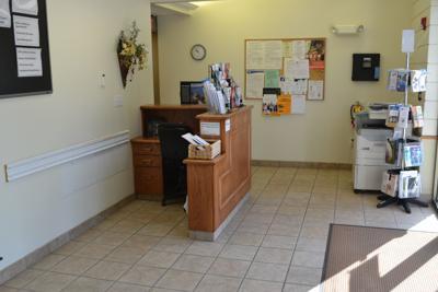 County Services Building entrance